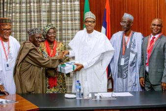 I expect you to put the Police in order, President Buhari tells Musiliu Smith's PSC