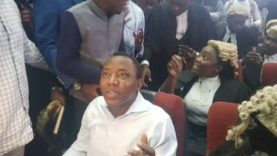 Sowore arraigned in Abuja court, charged with attempt to overthrow democratically elected President