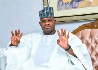BREAKING: White Lion roars to victory, as INEC declares Yahaya Bello winner of Kogi Governorship election