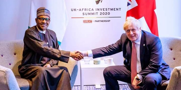 Nigeria will not just be continental but international power in future, British PM declares in meeting with President Buhari